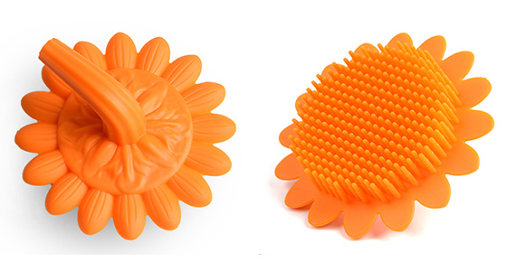 Mitour Silicone Products functional silicone spin brush for business for bath-7