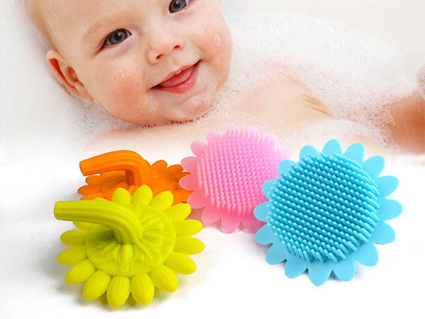 Mitour Silicone Products functional silicone spin brush for business for bath-10