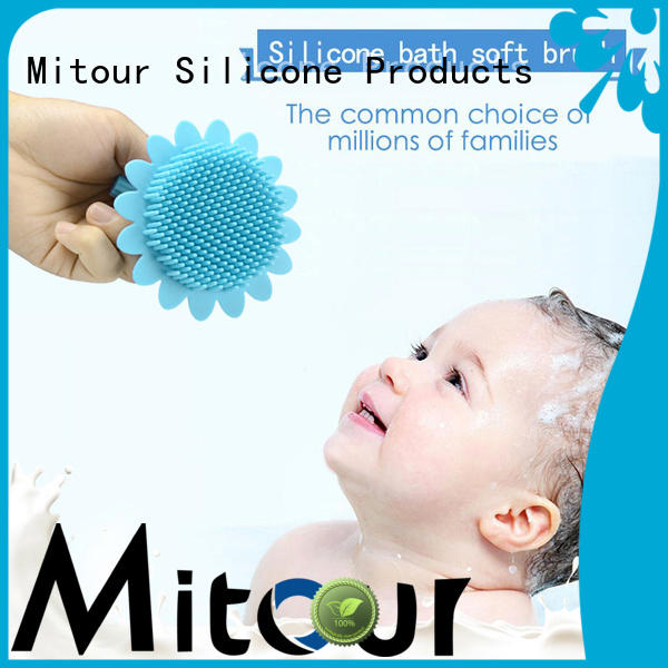 Mitour Silicone Products cheap factory price silicone makeup brush bulk production for bath