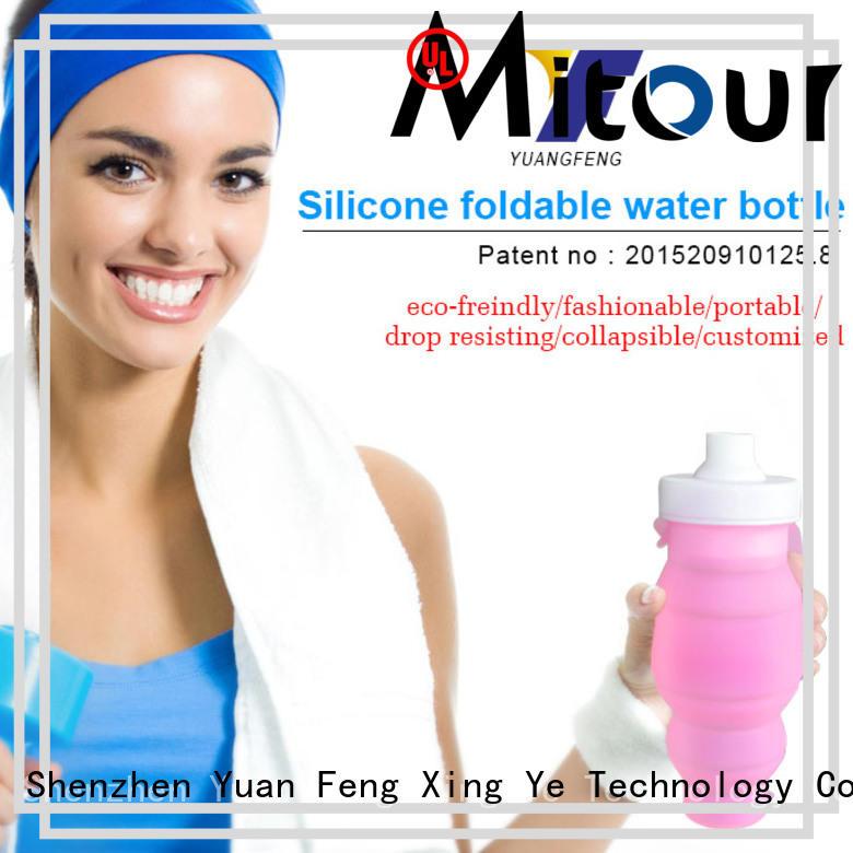 Latest silicone sleeve bottle bulk production for children