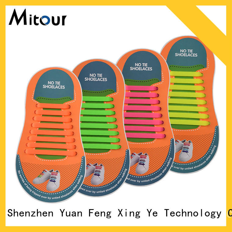 Mitour Silicone Products high-quality shoelace silicone contact for for child