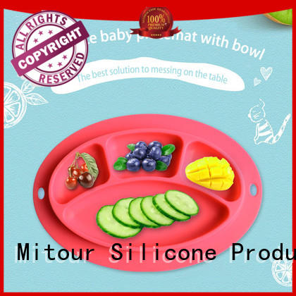 silicone silicone table mat placemat for children Mitour Silicone Products