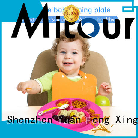 hot-sale silicone kids placemat silicone lunch for baby