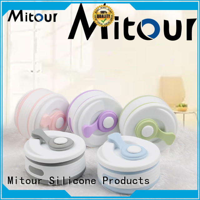 kids silicone water bottle bulk production for children Mitour Silicone Products