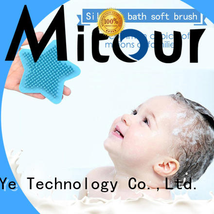 Mitour Silicone Products cheap factory price silicone face brush manufacturer for makeup