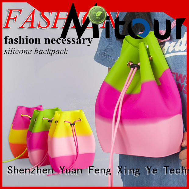 Mitour Silicone Products wholesale pvc handbag backpack for school