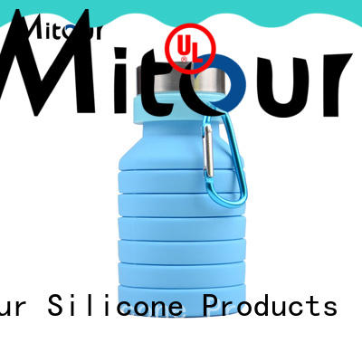 Mitour Silicone Products portable silicone foldable bottle inquire now for children