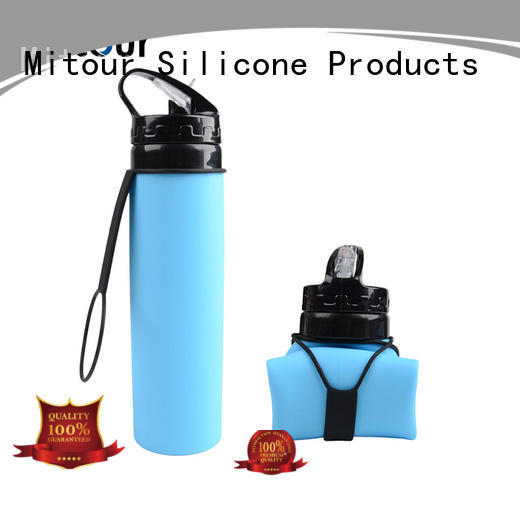 silicone foldable bottle squeeze for children Mitour Silicone Products