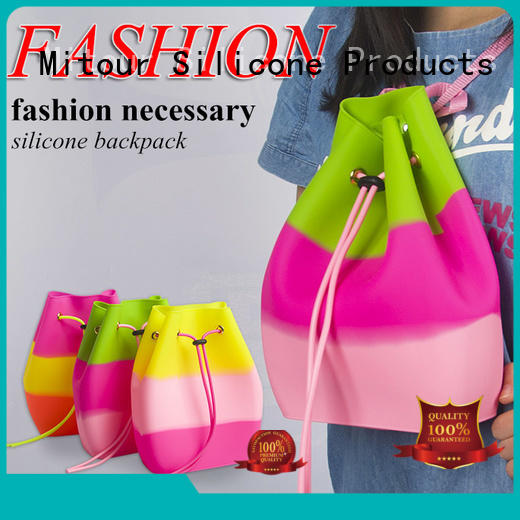 reusable silicone bags shoulder for school Mitour Silicone Products