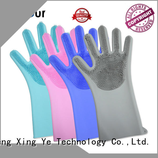 cleaning silicone oven mitts gloves for indoor cleaning Mitour Silicone Products