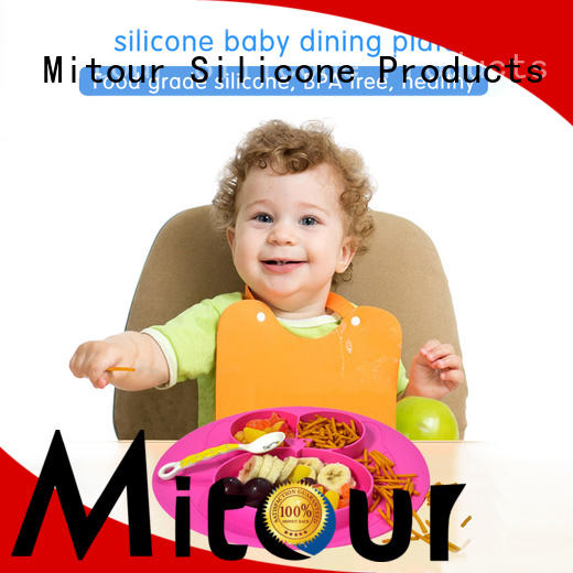 placemat silicone table mat bulk production for children Mitour Silicone Products