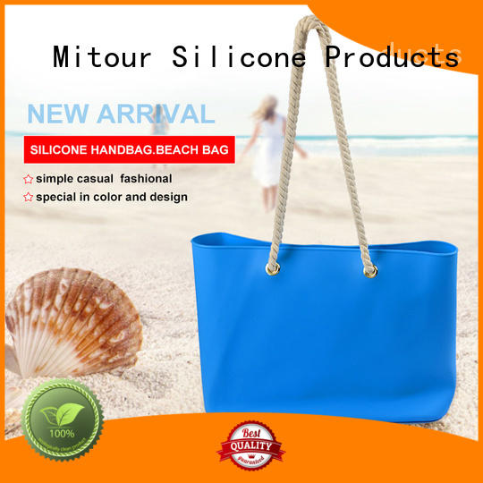 beach tote handbag inquire now for travel Mitour Silicone Products
