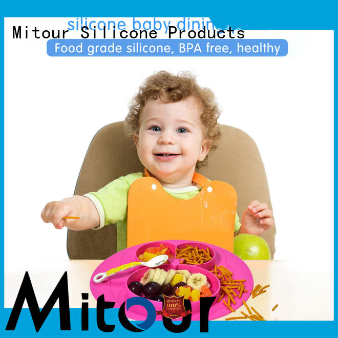 placemat silicone placemat for babies box for baby Mitour Silicone Products