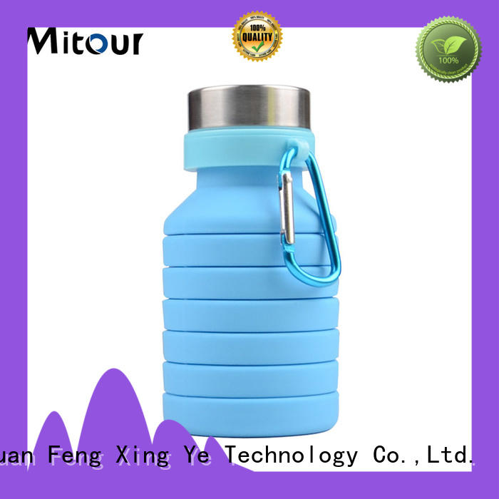 silicone folding bottle purse for children Mitour Silicone Products