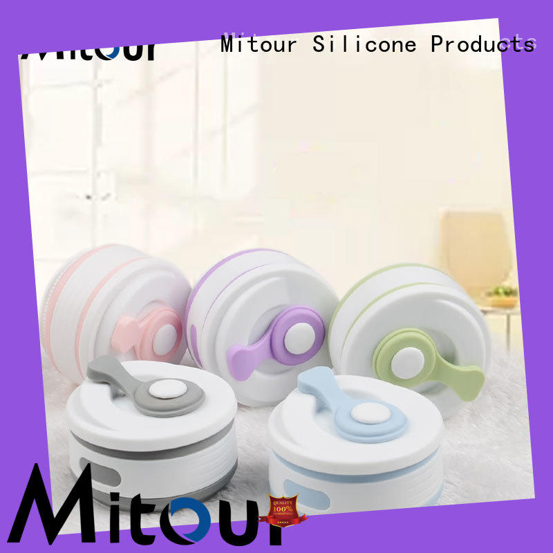 Mitour Silicone Products camouflage silicone foldable bottle inquire now for water storage