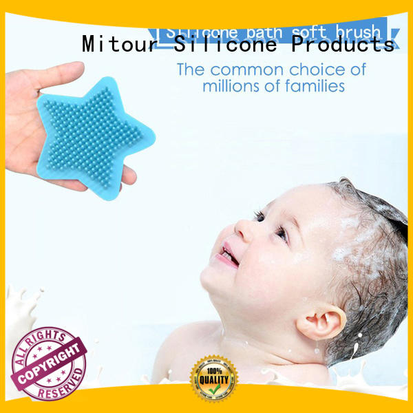Mitour Silicone Products cheap factory price silicone brush head silicone for baby