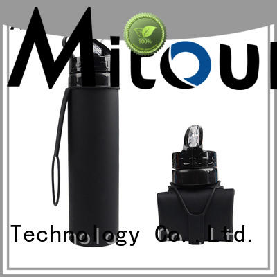 Mitour Silicone Products outdoor water bottle trick for wholesale for water storage