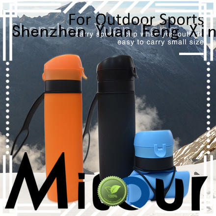 Mitour Silicone Products squeeze silicone squeeze bottle for water storage