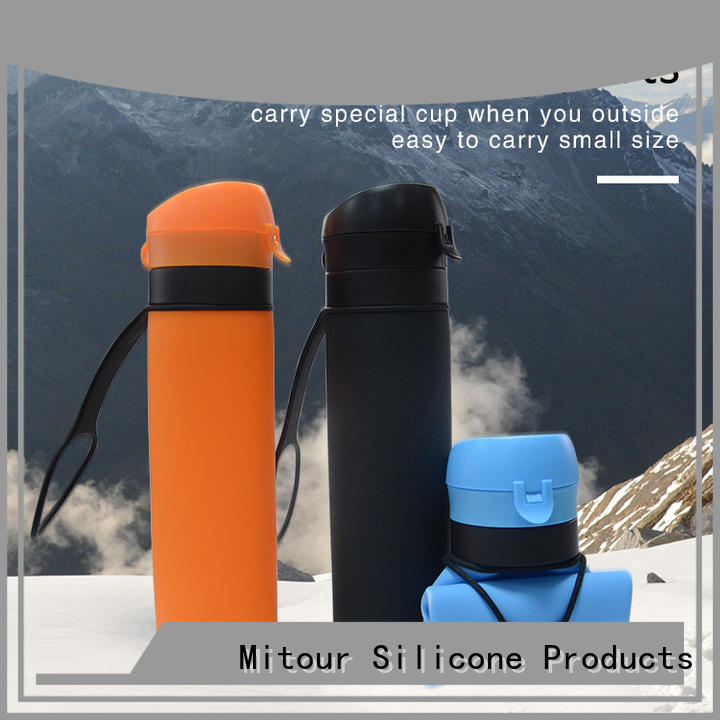 Latest silicone water bottle supplier for water storage