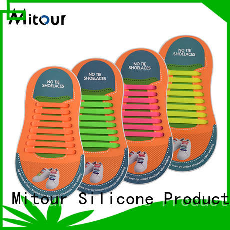 Mitour Silicone Products no tie led shoelaces singapore free sample for boots