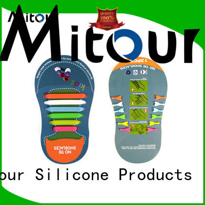 Mitour Silicone Products cheap sports shoes without laces contact for for boots