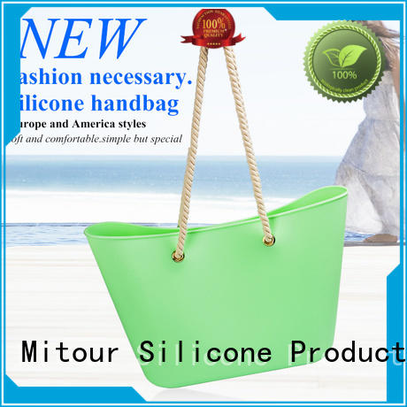 Mitour Silicone Products wholesale reusable silicone bags beach for school