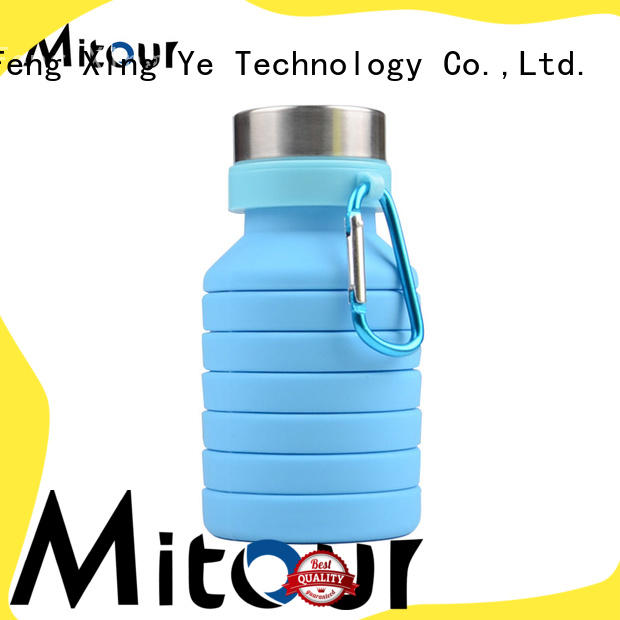 Mitour Silicone Products straight silicone travel bottles bulk production for water storage