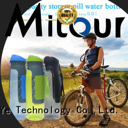 Mitour Silicone Products silicone goglass water bottle bulk production for water storage