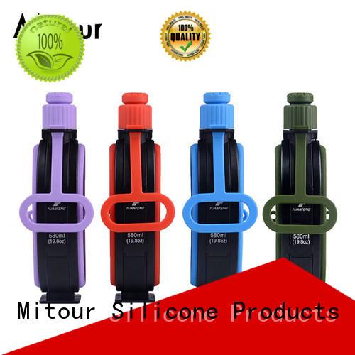 portable silicone bottle supplier for children