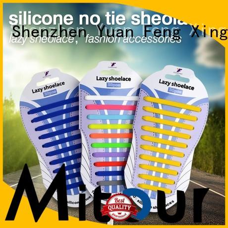 silicone no tie shoelaces silicone shoelaces for boots Mitour Silicone Products