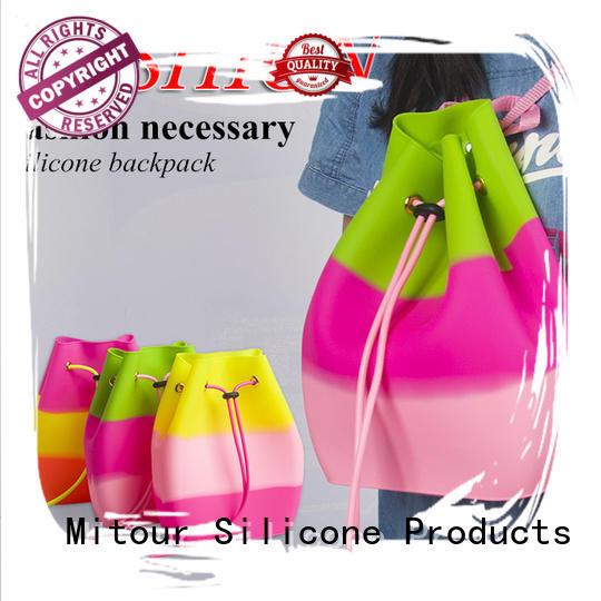 pvc handbag shoulder for trip Mitour Silicone Products