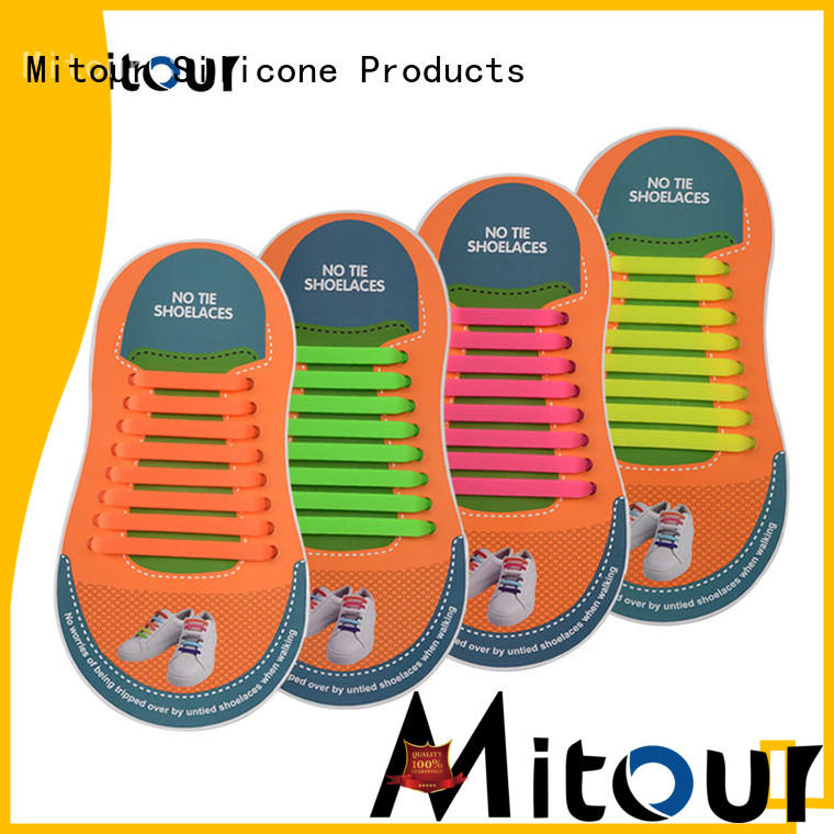 Mitour Silicone Products hot-sale quick shoe lace for child