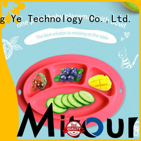 latest silicone kids placemat silicone bulk production for baby