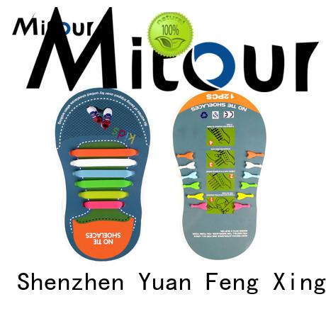 Mitour Silicone Products no tie silicone shoelaces shoe laces for child