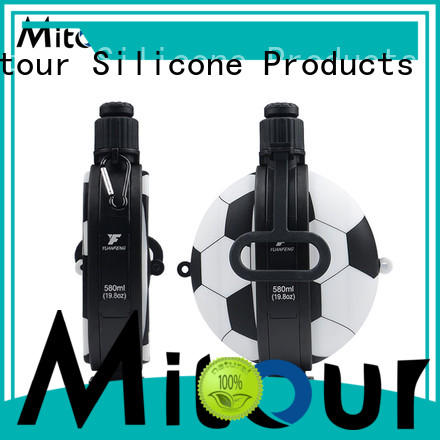 Mitour Silicone Products folding water bottle silicone camouflage for water storage