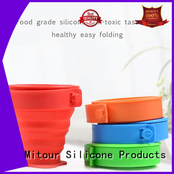 Mitour Silicone Products collapsible silicone milk bottle inquire now for water storage