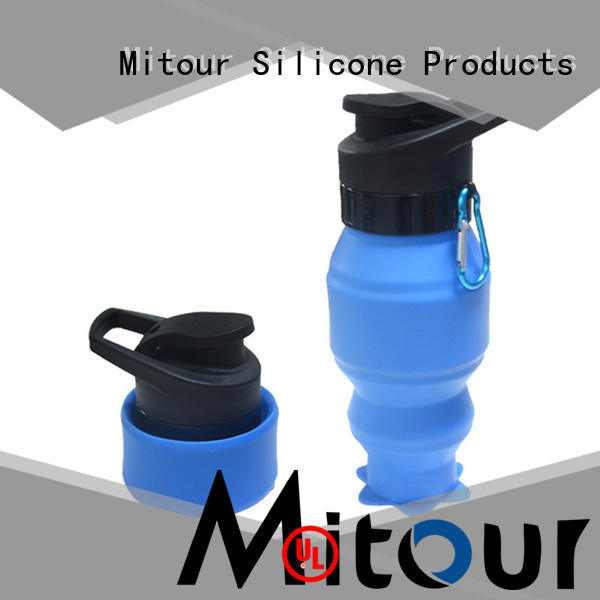 Mitour Silicone Products football fruit water bottle bulk production for water storage
