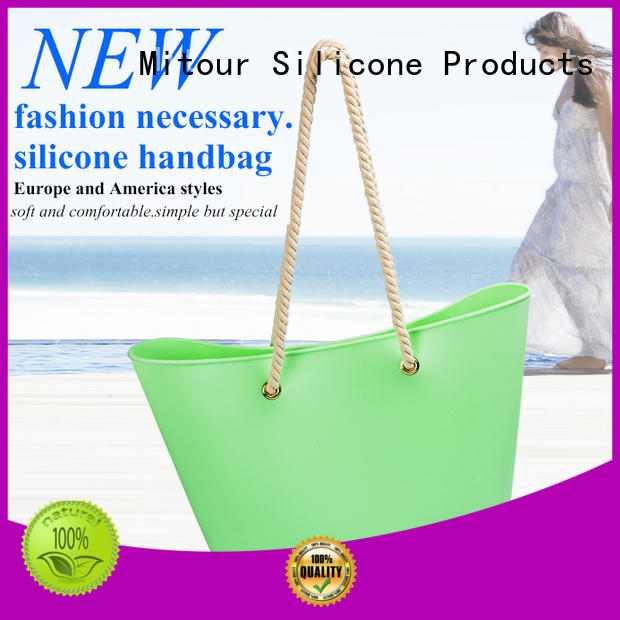 wholesale silicon beach bags handbag for boys Mitour Silicone Products