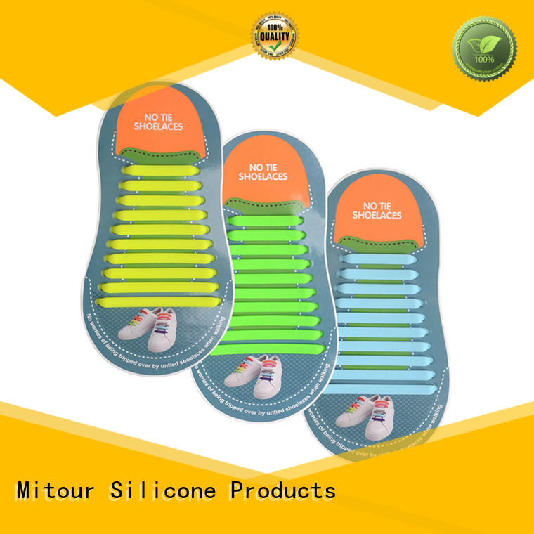 Mitour Silicone Products silicone shoelaces shoelaces for boots
