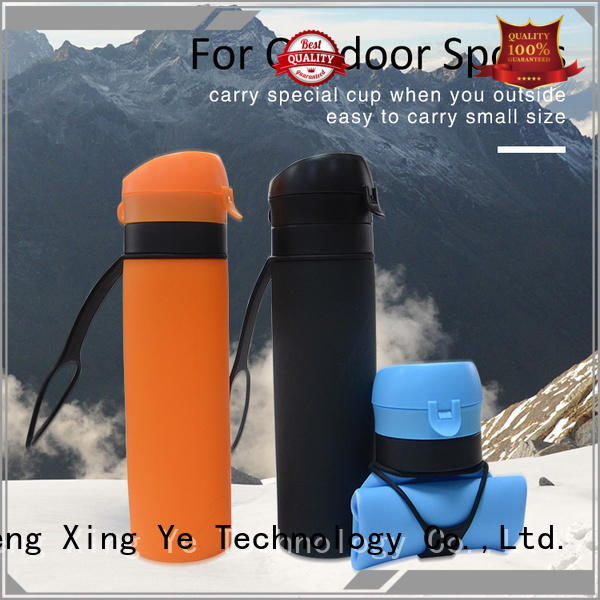 silicone collapsible bottle bulk production for children