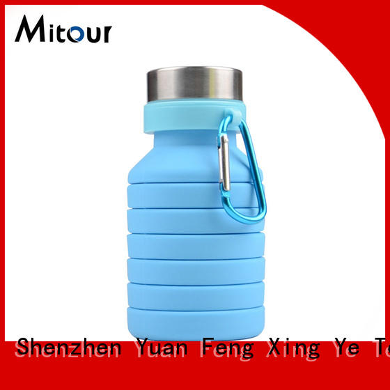 Mitour Silicone Products cup mist water bottle supplier for water storage
