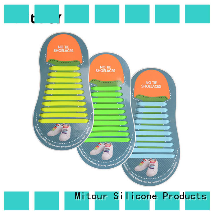 Mitour Silicone Products silicone quick shoe lace Suppliers for shoes