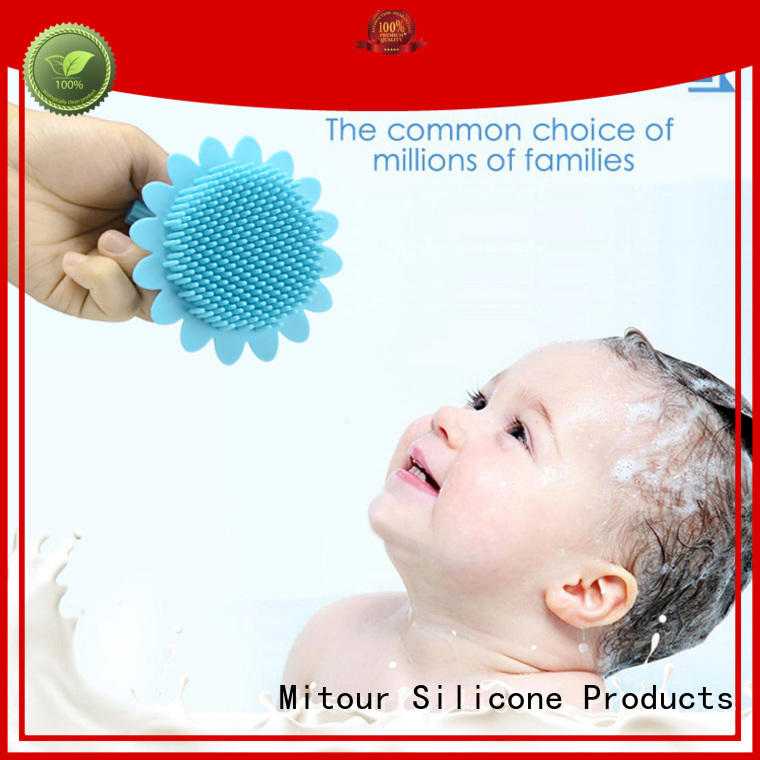 silicone brush cleaner soft for bath Mitour Silicone Products