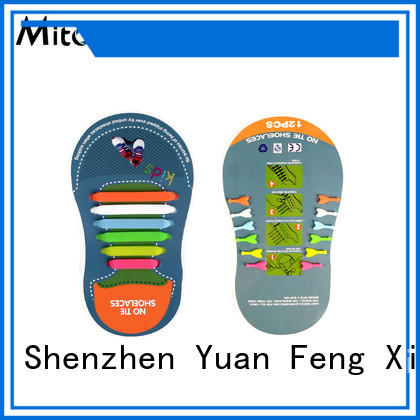 Mitour Silicone Products no tie types of shoelaces for child