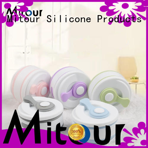 Mitour Silicone Products Top nomader collapsible water bottle for water storage
