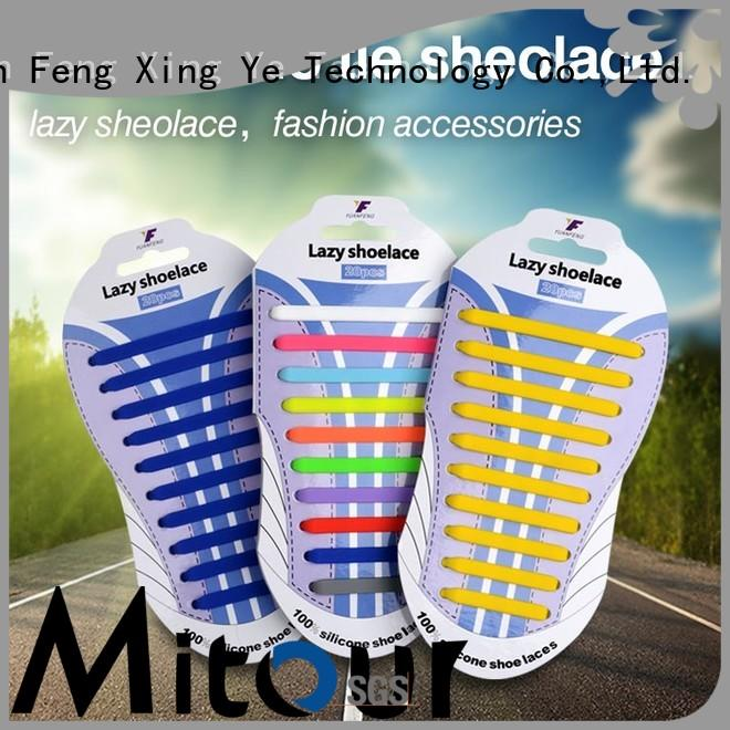 Mitour Silicone Products lazy sports shoes without laces shoelaces for child