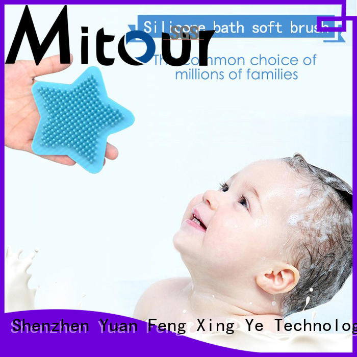 soft silicone brush bulk production for baby Mitour Silicone Products