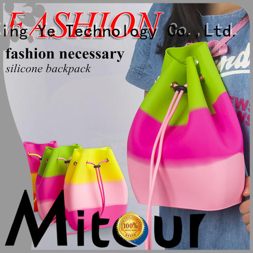 toiletry shoulder storage Mitour Silicone Products Brand lady handbag