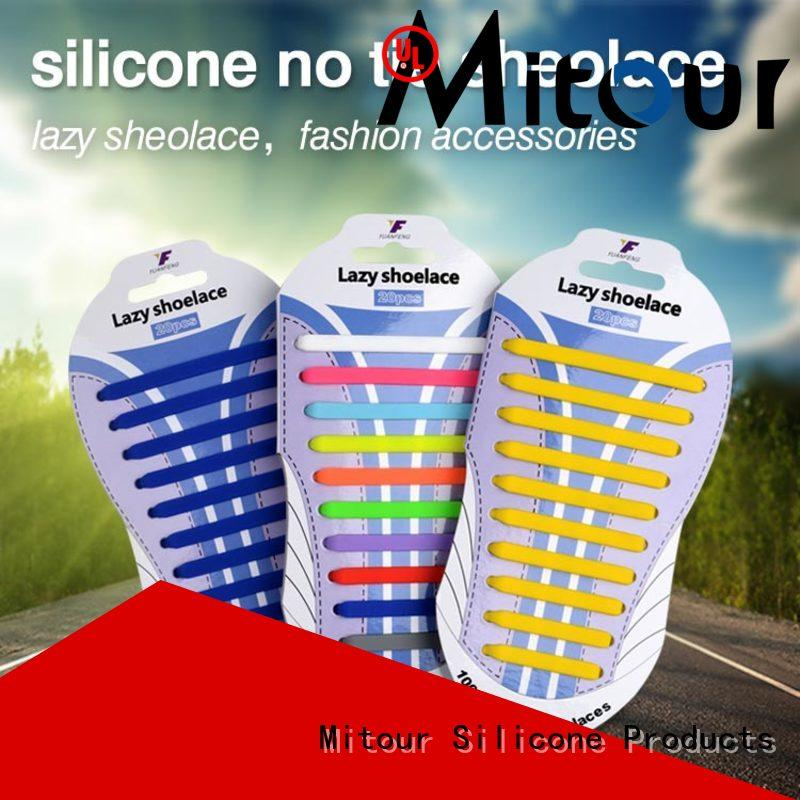 Mitour Silicone Products cheap best no tie shoelaces for business for shoes