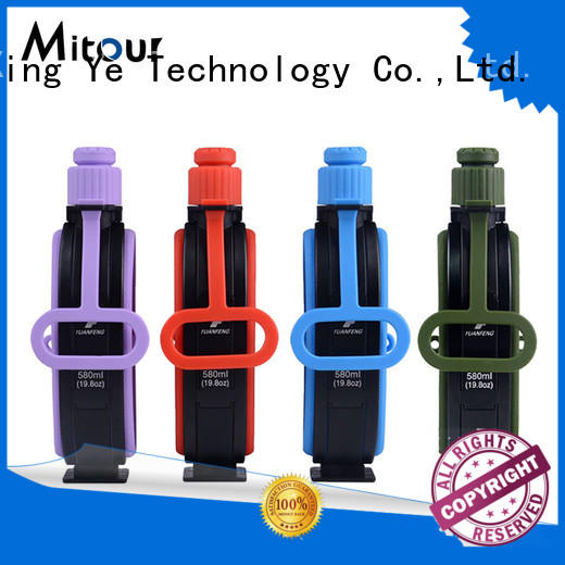 Mitour Silicone Products straight silicone water bottle kids for children